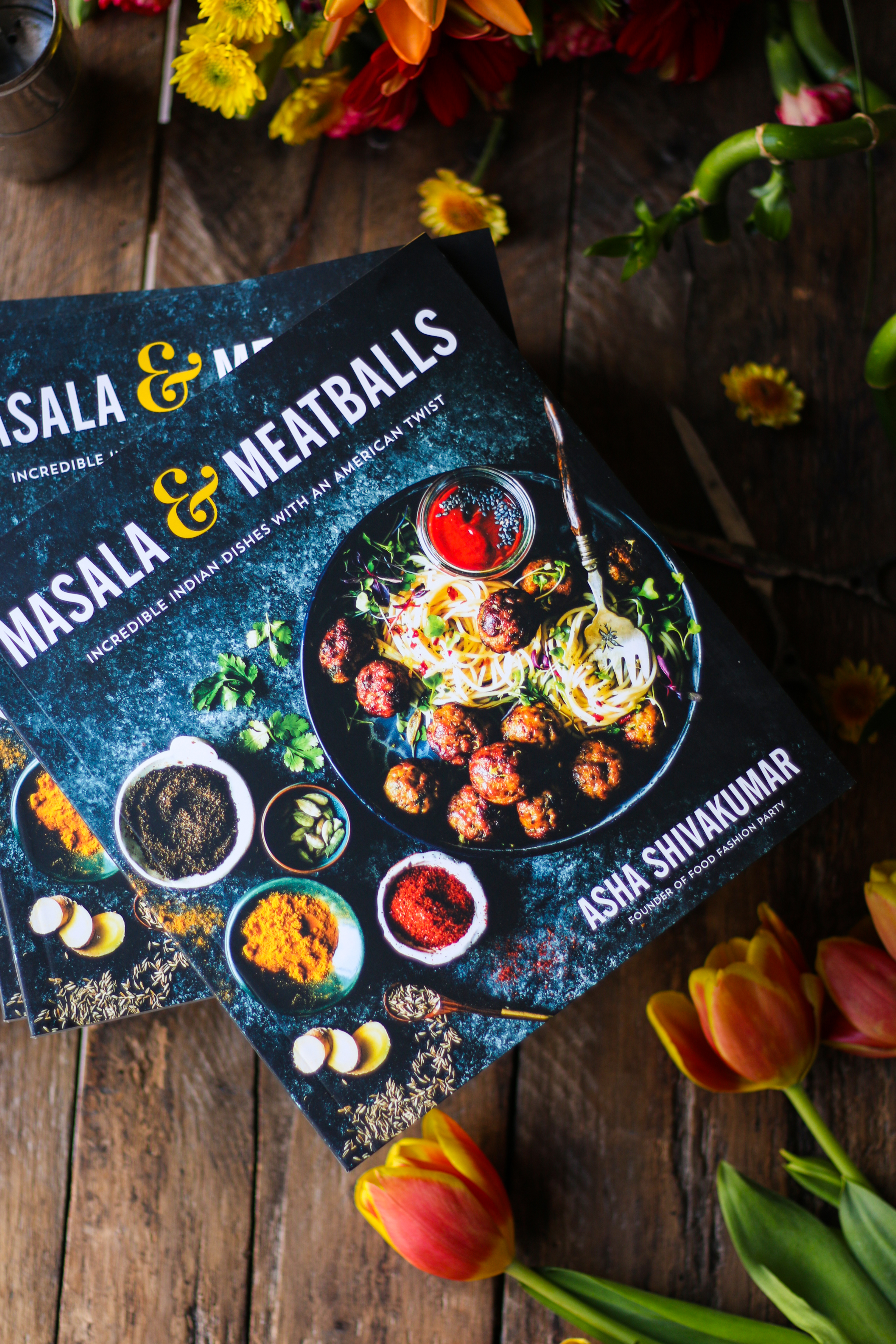 MASALA AND MEATBALLS COOKBOOK + Giveaway |foodfashionparty| #giveaway #cookbook