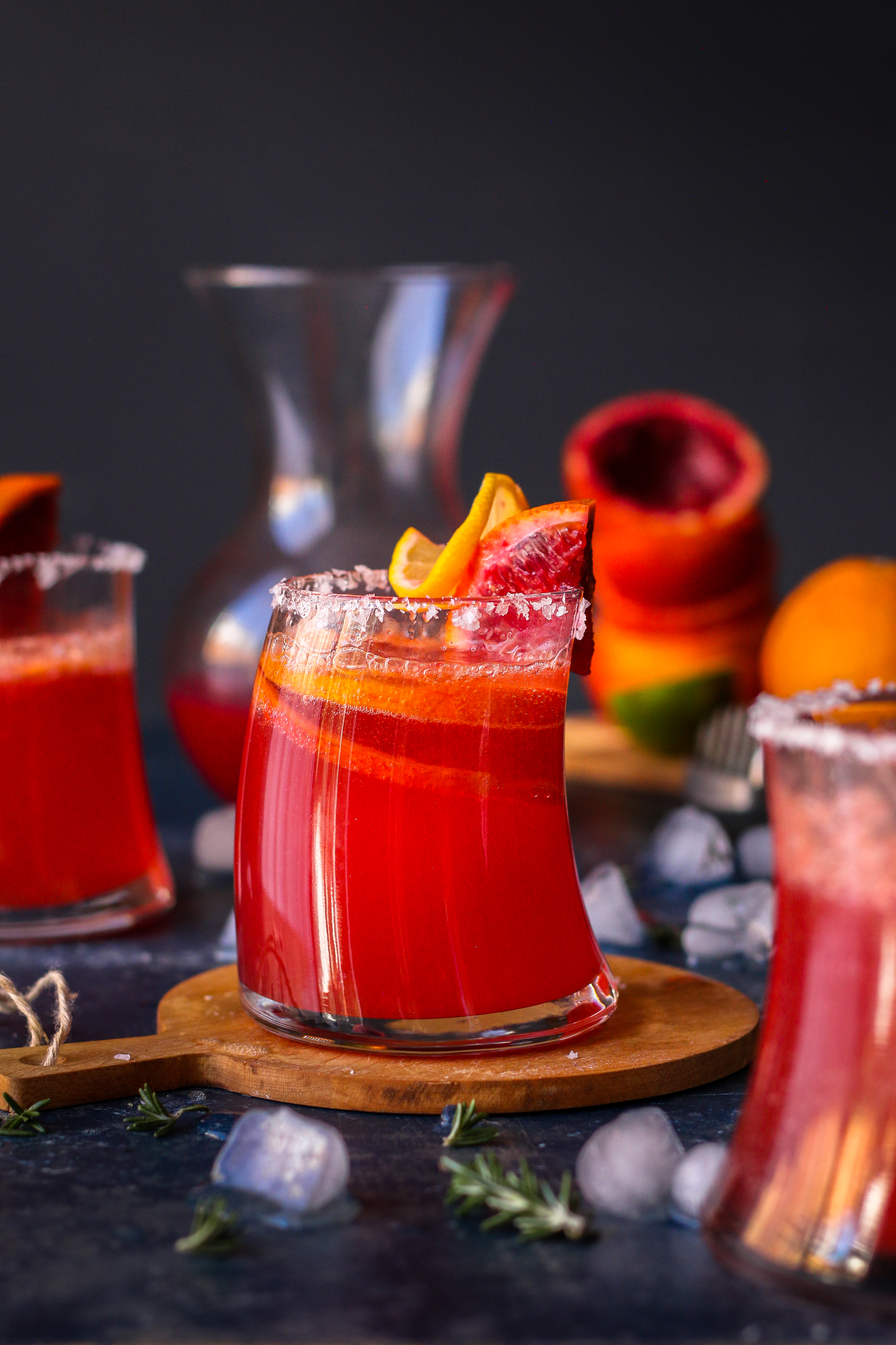 Blood Orange Fizz  foodfashionparty  #bloodoranges